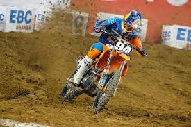 red bull motocross race red bull ktm u0027s ken roczen takes 2nd at phoenix supercross