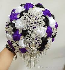 Wedding Flowers Cork New Arrival Wedding Bridal Bouquets Top Grade Crystals Rhinestones