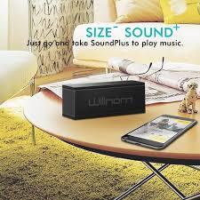 Living Room Bluetooth Speakers Deal Willnorn Soundplus Portable Bluetooth Speaker 27 99