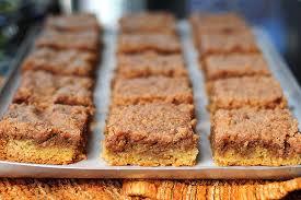 Pumpkin Bars With Crumb Topping Pumpkin Pie Bars Tasty Kitchen Blog