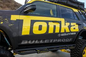toyota 4runner lifted tonka adds custom toyota 4runner to line of fullsize models photo
