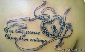 great lock and key tattoos ideas that you can share with your friends