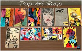 Pop Art Rugs Pop Art The Rebels