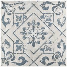 merola tile lotto cobalto 17 3 4 in x 17 3 4 in ceramic floor