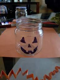 reuse baby food jars for a fun halloween craft from downriver
