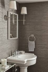 wallpaper ideas for bathroom 29 best powder rooms images on bathroom bathrooms and
