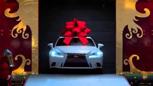 lexus car commercial no reindeer just rails the lexus december to remember commercial
