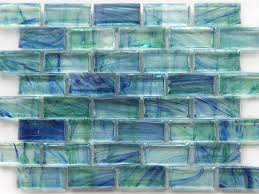 green glass backsplashes for kitchens inspirations glass wall tile and kitchen blue glass wall tile
