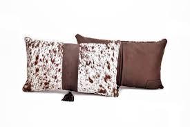 Cowhide Pillows Brown And White Salt U0026 Pepper Cowhide Pillow Hugo Hides