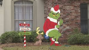 cenla grinch decorations stolen from homes in alexandria