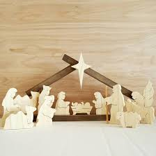 wooden nativity set ultimate list of nativity sets for christmas blissful