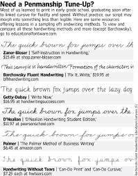 how handwriting boosts the brain wsj