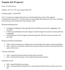job proposal template to pitch to new employers