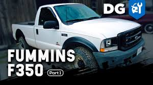 Old Ford Truck Diesel Conversion - fummins diesel swap 5 9 cummins in an u002704 ford f350 part 1