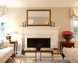 painted faux marble fire surround living room traditional with end