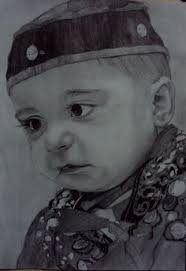 pencil sketch baby face sketch artgallery sketches art
