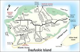 Map Of Beaufort Sc Daufuskie Island Shuttle From Hilton Head Island