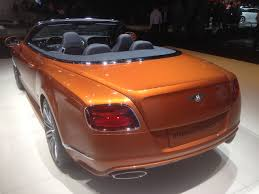 custom bentley convertible european luxury cars of the new york auto show 300magazine
