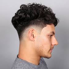 afro taper fade haircut mens hairstyles and haircuts in curly afro
