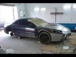 kit car lamborghini aventador mitsubishi eclipse turned into a lamborghini aventador custom kit