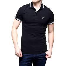 t shirt originale guess polo uomo t shirt piquet stretch sport tennis calcio