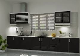 simple and small kerala kitchen interior design evens pvt ltd