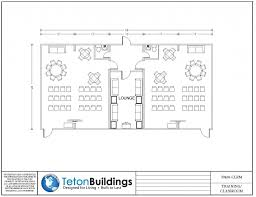 Floor Plan For Classroom by Prefabricated Homes Designs And Floor Plans Teton Buildings