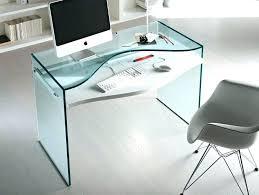 Glass Top Computer Desks For Home Small Glass Desk Bethebridge Co