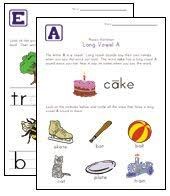 long vowels long a in train long vowels worksheets and phonics