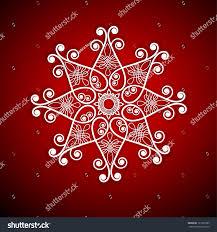 Snowflake Flower - funky snowflake flower shape stock vector 121035385 shutterstock