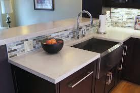 Concrete Kitchen Countertops Marvellous Work Of Concrete Countertops Counter Top And Countertop