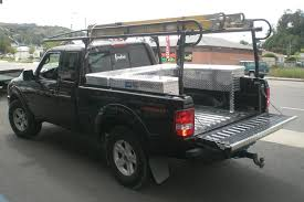 ford ranger ladder racks socal truck accessories tool boxes