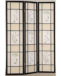 fall sale legacy decor 3 panel floral accented screen room