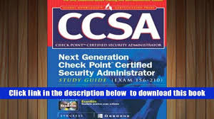 download ccsa check point certified security administrator study