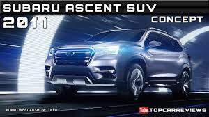 subaru suv concept 2017 subaru ascent suv concept review rendered price specs release