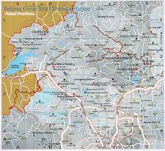 Map Of Beijing China by Beijing Great Wall Transportation Expressways To Badaling