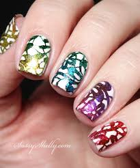 tutorial nail art foil finally foil sting success sassy shelly