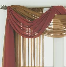 Window Scarves For Large Windows Inspiration Extraordinary Pictures Of Different Ways To Hang Curtains