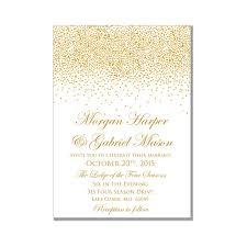 gold wedding invitations printable wedding invitation gold wedding gold sparkles diy