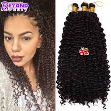 3a Curly Hair Extensions by 14 Inch Curly Crochet Hair Bohemian Freetress Crochet Braids Water