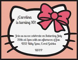 online birthday invitations with a bow