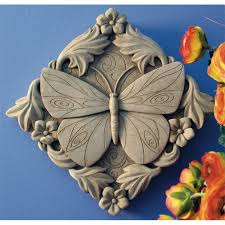 this butterfly surrounded by flowers evokes a sense of peace and a