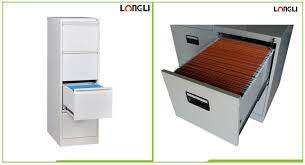 4 Drawer Vertical Metal File Cabinet by Full Pull Handle 4 Drawer Metal Type Filing Cabinet Longli
