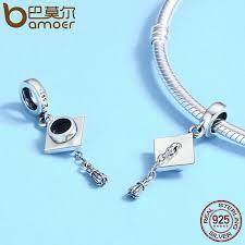 bracelet pendant images Authentic 925 sterling silver graduate trencher cap long tassel jpg