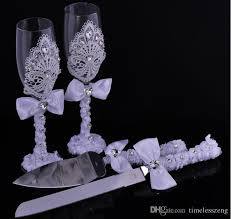 wedding gift knife set 2016 luxurious wedding gift set goblet diamond cake scoop cake