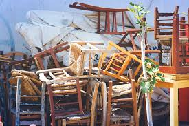 Old Wooden Furniture Free Picture Furniture Retro Old Wooden Chairs Stacked Street
