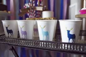 Winter Decorations For Parties - winter glitter reindeer holiday party best friends for frosting