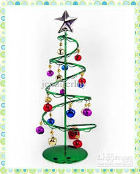 tree metal spiral hanging bell high grade