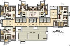 Cluster House Plans Dheeraj Oneness In Borivali West Mumbai Price Location Map