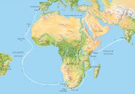Vasco Da Gama Route Map by Vasco Da Gama Q Files Encyclopedia